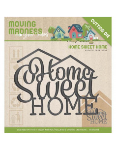 Fustella Yvonne Creations - Home Sweet Home YCD10098