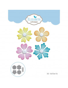 ELIZABETH CRAFT DIE - Set 5pz Small Flower EC1463