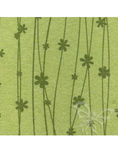 Foglio FELTRO 30x40cm 1mm FIORI Verde Salvia-Verde Oliva 25019045