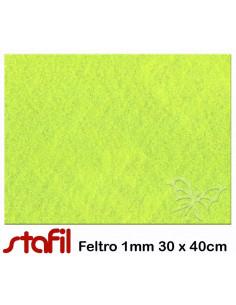 Foglio FELTRO 30x40cm 1mm Verde Pistacchio