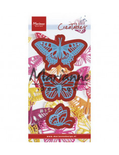 Fustella Marianne Design Creatables - Tiny's Butterflies Set LR0509