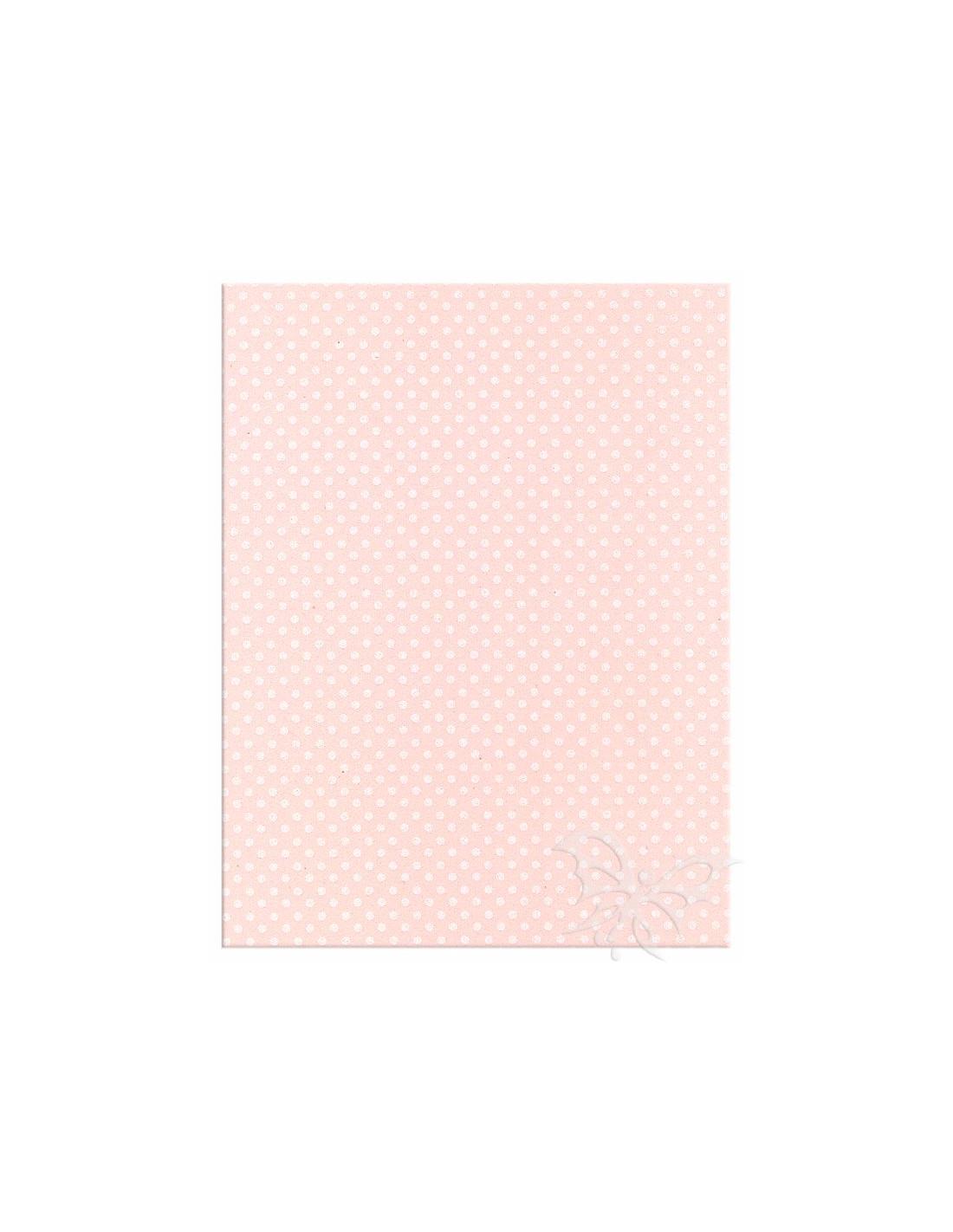 Foglio moosgummi pois rosa pastello bianco jpg 800x800 Moosgummi 40x60cm 96c61747274
