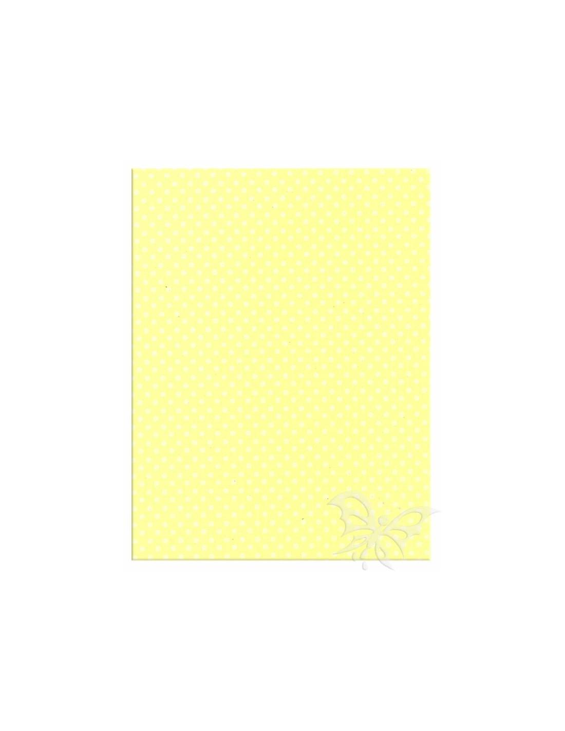 Foglio Moosgummi 40x60cm 2mm Pois Giallo Pastello-Bianco. Loading zoom 31e937ab24a