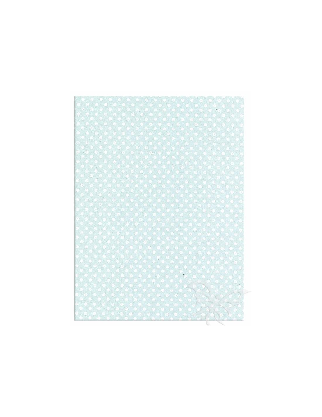 Foglio moosgummi pois azzurro pastello bianco loading zoom jpg 800x800  Moosgummi 40x60cm 5e753ff9770
