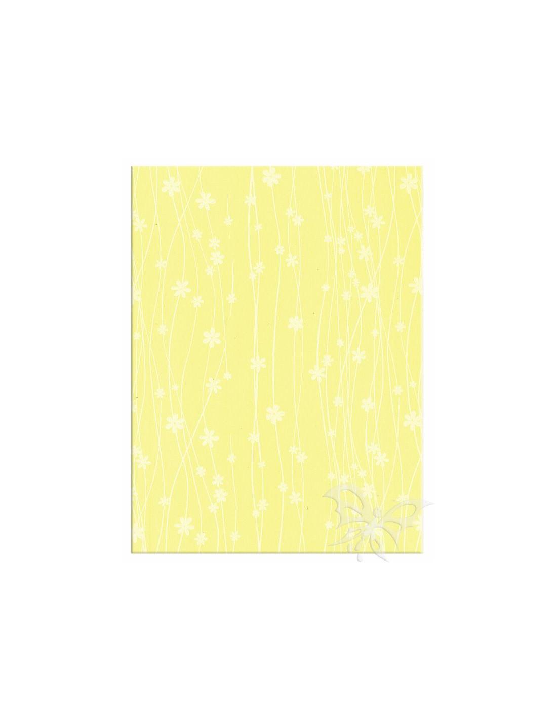Foglio Moosgummi 40x60cm 2mm Fiori Giallo Pastello-Bianco. Loading zoom 75119a137ce