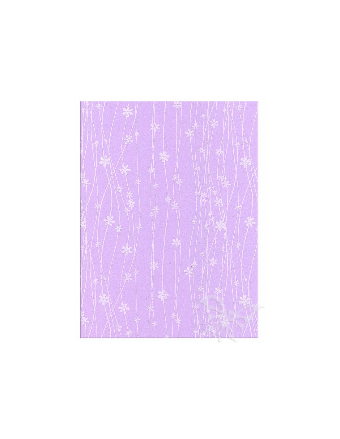 Foglio moosgummi fiori glicine pastello bianco jpg 800x800 Moosgummi 40x60cm 03d19f5c57c