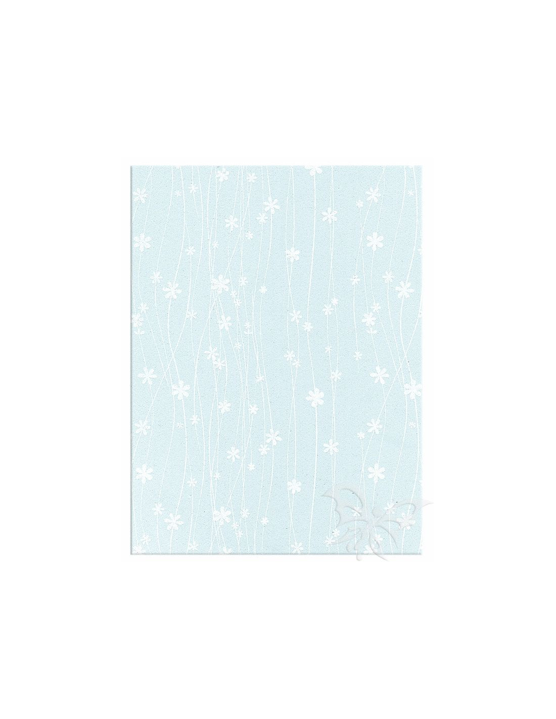 Foglio moosgummi fiori azzurro pastello bianco jpg 800x800 Pastello bianco 321132cb77d