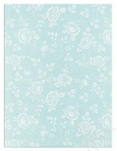 Foglio Moosgummi 40x60cm 2mm Rose Azzurro Pastello-Bianco