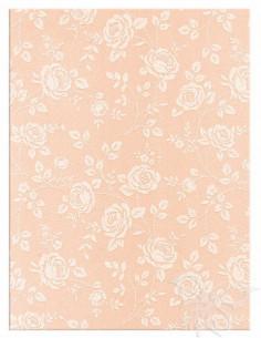 Foglio Moosgummi 40x60cm 2mm Rose Rosa Pastello-Bianco