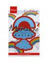 Fustella Marianne Design - Rainbow & clouds LR0531