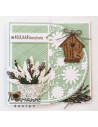 Fustella Marianne Design - Anja's flower demi circle LR0517