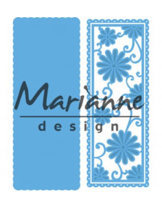Fustella Marianne Design - Anja's flower rectangle LR0516