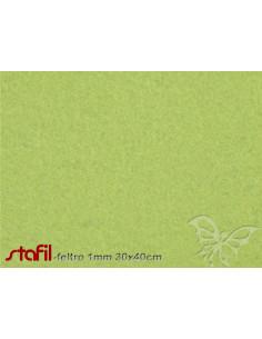 Foglio FELTRO 30x40cm 1mm Verde Pistacchio 25017045