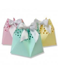 Sizzix Thinlits Die Set 6PK - Star Gift Bag 662583