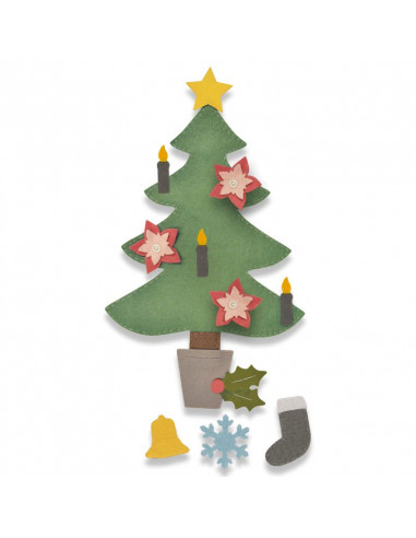 Fustella Sizzix Bigz Plus - Christmas Tree n.2 662969