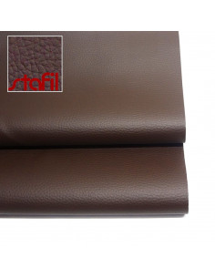 Leatherette Nabuk 50x70cm Chocolate