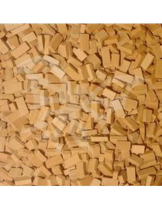 Mattoncini terracotta sfusi 0.6x0.4x1cm