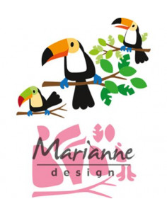Fustella Marianne Design Collectables - Eline's Toucan COL1457