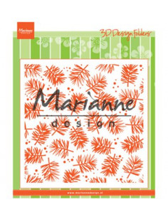 Marianne Design libretto Embossing Design Folder Pine DF3450