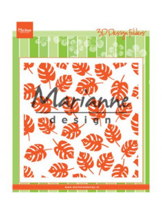 Marianne Design libretto Embossing - Tropical leaves DF3449
