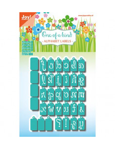 Fustella Joy craft - Alphabet labels 6002/1049
