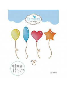 ELIZABETH CRAFT DIE - Set 9pz Balloon