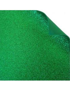 "Foglio fommy glitter ""Verde Vivo"" 40x60cm"