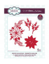 Fustella Creative Expressions - Poinsettia Garland CED3134