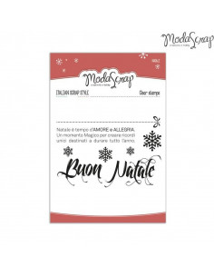 Clear Stamps MSTC3-015 - Natale