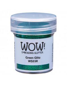 Wow! Polvere Embossing Glitters 15ml - Green Glitz WS03R