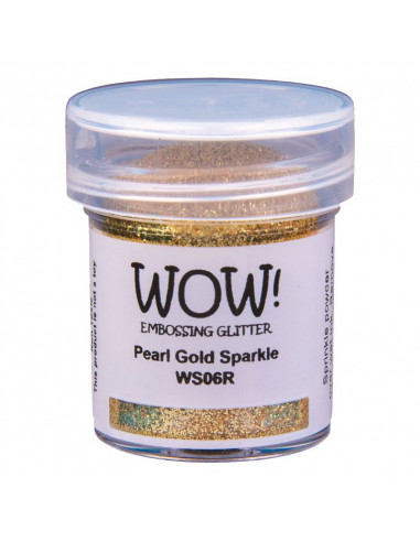 Wow! Polvere Embossing Glitters 15ml - Pearl Gold Sparkle WS06R