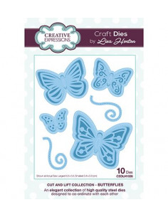 Fustella Creative Expressions - Butterflies CEDLH1026