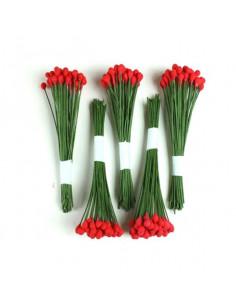 Pistilli per fioristi Rossi 250pz FCPIW-R