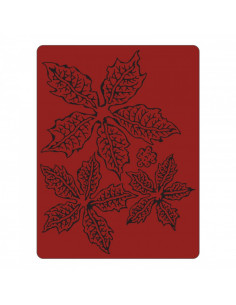 Libretto Embossing Sizzix - Tattered Poinsettia 662198
