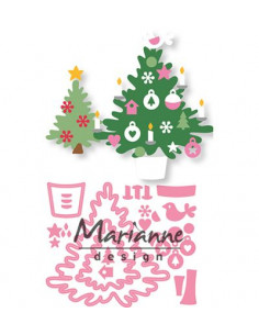 Fustella Marianne Design Collectables - Eline's Christmas tree COL1459