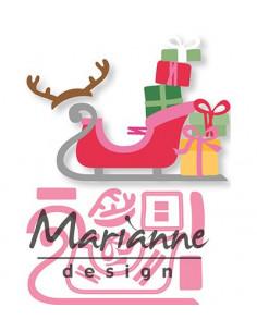 Fustella Marianne Design Collectables - Eline's Sleigh COL1460