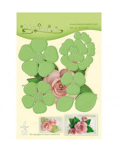 Fustella Multi die flower 016 Rose 3D 455350