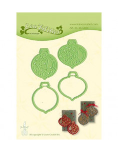 Fustella Christmas ornaments 455404