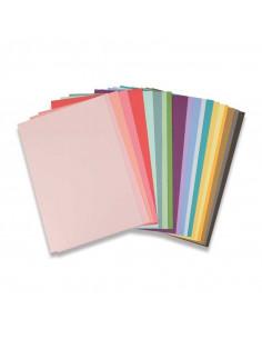Sizzix set 80 Fogli A4 216gr cartoncini multicolore 663007