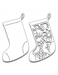 Craft Die - Christmas Stockings 51-252