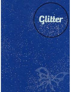 Panno GLITTER Nebulosa Bluette 30x40cm 1mm
