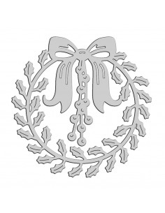 Craft Die - Holly Wreath 51-399