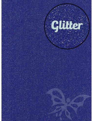 Feltro GLITTER FINE Bluette 30x40cm 1mm