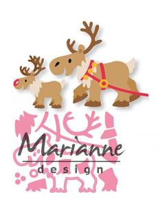 Fustella Collectables: Eline's Reindeer COL1461