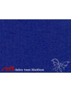 Foglio FELTRO 30x40cm 1mm Bluette 25017019