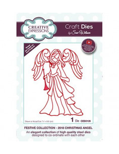 Fustella Creative Expressions - Christmas Angel 2018 CED3128