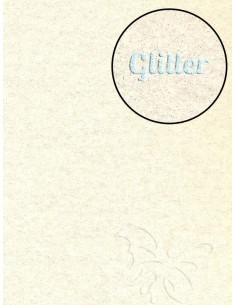 Feltro Glitter Panna 3mm 50x70cm