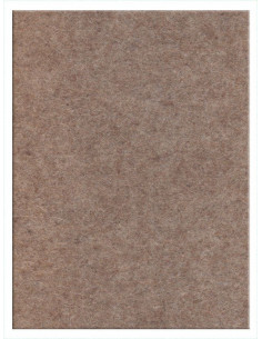 Feltro cm 50x70 mm3 Marroncino Melange