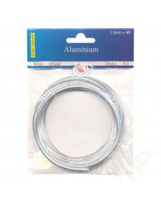 Filo di Alluminio 2mm x 4mt