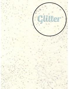 Panno GLITTER Nebulosa Panna 30x40cm 1mm